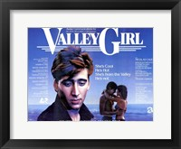 Framed Valley Girl Nicolas Cage