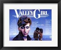 Framed Valley Girl Nicolas Cage