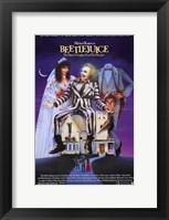 Beetlejuice II Framed Print