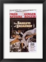 Framed Barkleys of Broadway The
