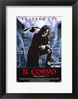 Framed Crow (spanish)