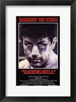 Framed Raging Bull Robert De Niro