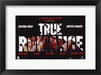 Framed True Romance - A Bonnie And Clyde