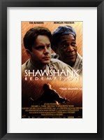 Framed Shawshank Redemption Robbins and Freeman