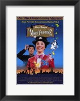 Framed Mary Poppins Disney