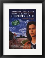 Framed What's Eating Gilbert Grape