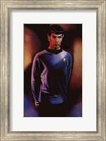 Framed Star Trek - Mr. Spock