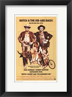 Framed Butch Cassidy and the Sundance Kid Beige