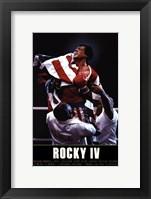 Framed Rocky IV