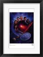 Framed Star Trek: The Next Generation