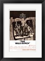 Framed Wild Bunch - B&W