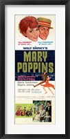 Framed Mary Poppins Tall Broadway