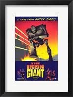 Framed Iron Giant