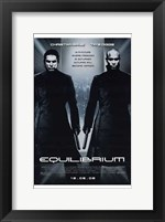Framed Equilibrium Black and White