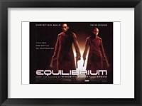 Framed Equilibrium Christian Bale