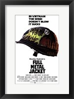 Framed Full Metal Jacket Vietnam