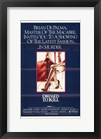 Framed Dressed to Kill Brian De Palma