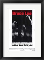 Framed Enter the Dragon Legend