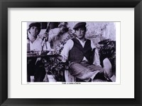 Framed Godfather Purple Scene