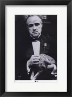 Framed Godfather the Don