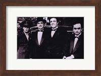 Framed Godfather Men in Suits