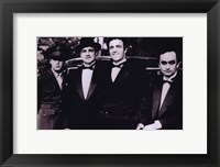 Framed Godfather Men in Suits