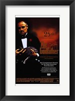 Framed Godfather 25 Anniversary