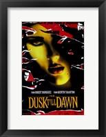 Framed From Dusk Till Dawn Salma Hayek
