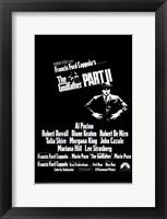 Framed Godfather Part 2 Francis Ford Coppola