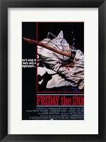 Framed Friday the 13th Sean Cunningham