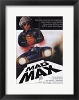Framed Mad Max Car