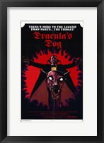 Framed Dracula's Dog