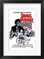Framed Savage Intruder