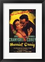 Framed Harriet Craig