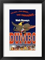 Framed Dumbo The One... The Only..