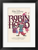 Framed Robin Hood Disney