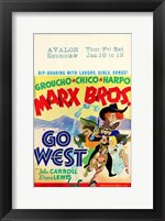 Framed Go West