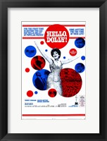 Framed Hello Dolly Barbera Streisand
