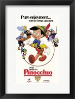 Framed Pinocchio