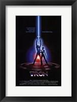 Framed Tron Laser