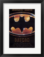 Framed Batman Movie Logo