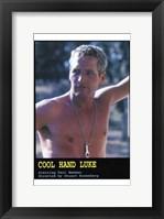 Framed Cool Hand Luke Paul Newman
