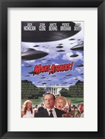 Framed Mars Attacks Jack Nicholson