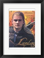 Framed Lord of the Rings: the Two Towers Legolas