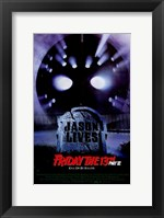 Framed Friday the 13Th Part 6 Jason Lives
