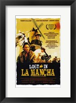Framed Lost in La Mancha