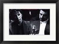 Framed Heat Pacino De Niro