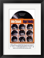 Framed High Fidelity John Cusack