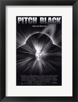 Framed Pitch Black