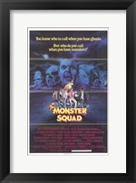 Framed Monster Squad